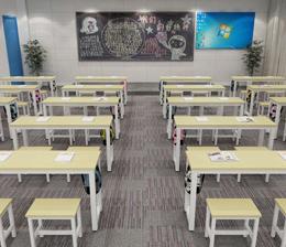 学生桌椅SW-K36